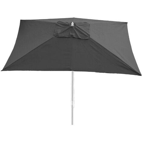 Housse pour parasol Florida, housse de remplacement, 3x4m polyester 6kg ~ anthracite