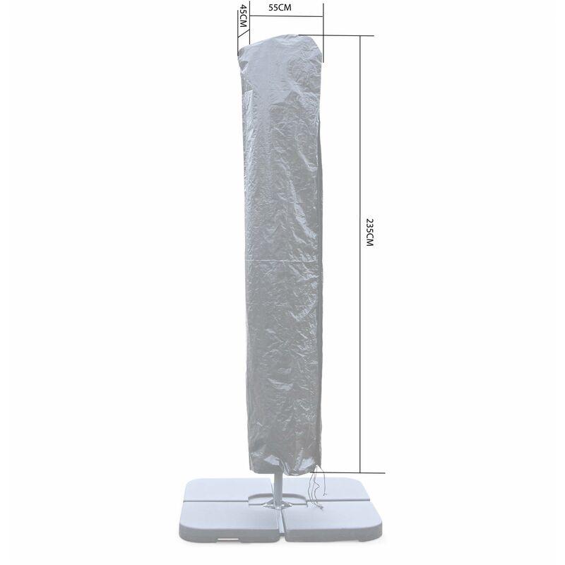 Housse pour parasol droit 2X3M