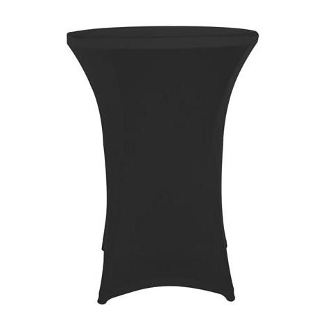Housse pour table mange debout - noir