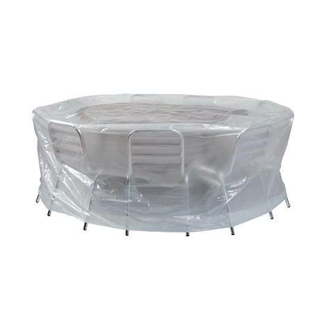 Housse pour table ronde et chaises 200xH80cm