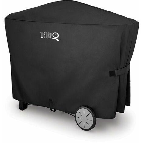 housse premium weber - pour series q 2000 avec chariot et q 3000