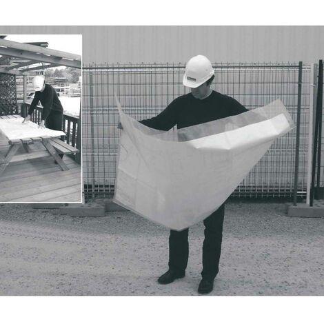 housse protection de plan chantier 1,50 x 1,00 ml convient A0 (paquet de 10 housses)