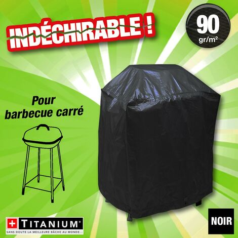 housse protection indechirable barbecue carre