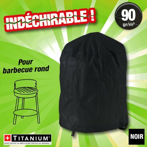 housse protection indechirable barbecue rond