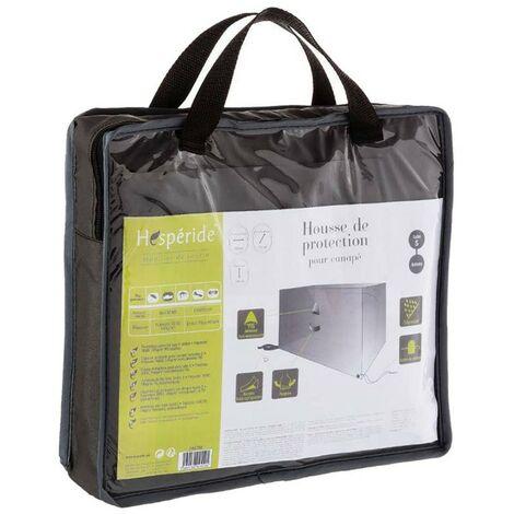 Housse protection pour canapé extérieur Hespéride S - Gris