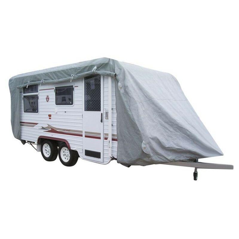 Heliauto - Bache de protection pour Caravane 600 x 230 x 200 cm PE