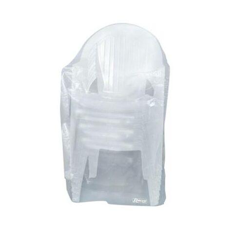 Housse protection pour chaise de jardin avec accoudoir - indéchirable