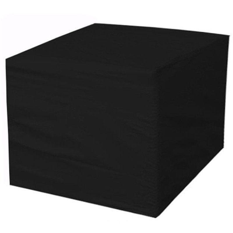Housse protection pour meuble chaise table ext¨¦rieur jardin 150X150X75cm - MOHOO