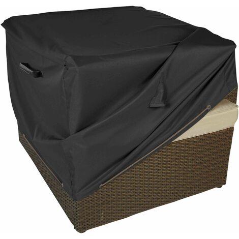 Housse salon de jardin fauteuil de jardin - Noir - 101720