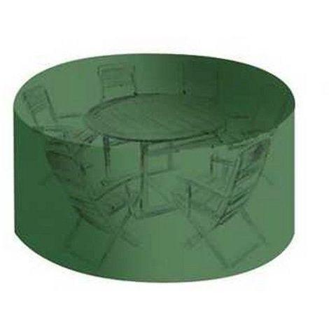 Housse salon de jardin PVC diamètre 184 cmxhauteur 120 cm