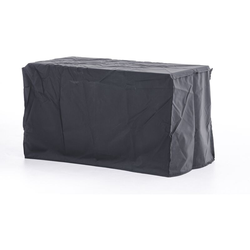 Housse de protection 119x69x62 pour coffre de rangement Luxus L noir