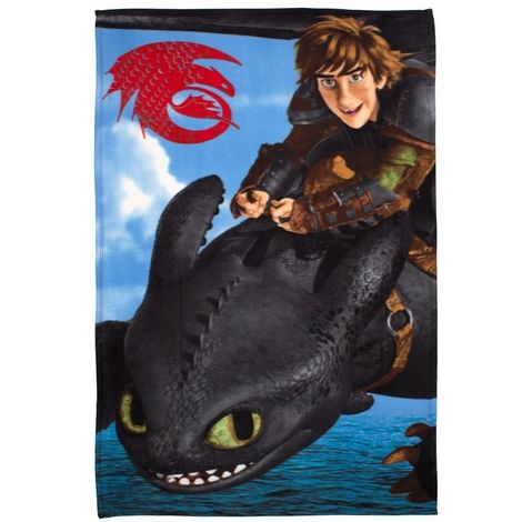 How To Train Your Dragon Childrens/Kids Seascape Fleece (One Size) (Blue/Black)
