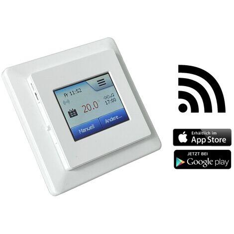 HoWaTech WIFI - WLAN Fußbodentemperaturregler | Thermostat für elektrische Fußbodenheizung