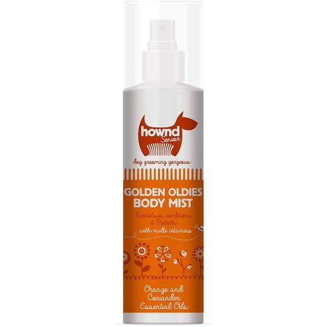 Hownd Golden Oldies Body Mist Dog Spray Liquid (250ml) (May Vary)