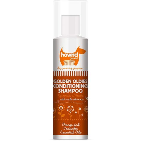 Hownd Golden Oldies Dog Conditioning Shampoo Liquid (250ml) (May Vary)