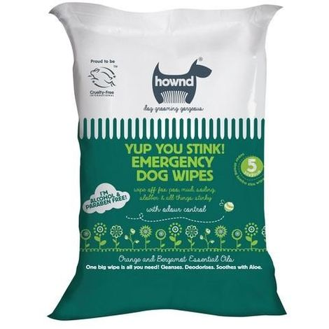 Hownd Yup You Stink Emergency Dog Wipes (One Size) (May Vary)