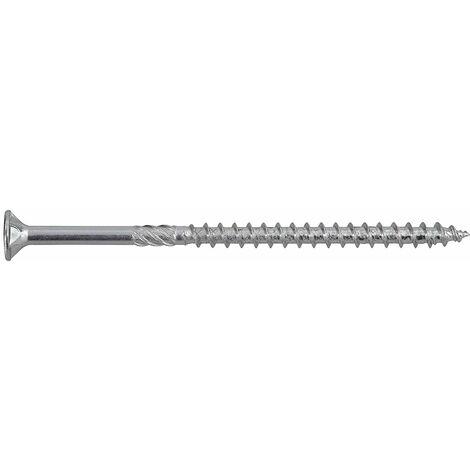 Hox Lot de 100 vis à bois avec homologation 5 x 40 mm