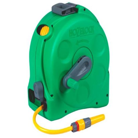 HOZ2415 - Hozelock 2415 2 in 1 Compact Reel with 25m Hose & Fittings