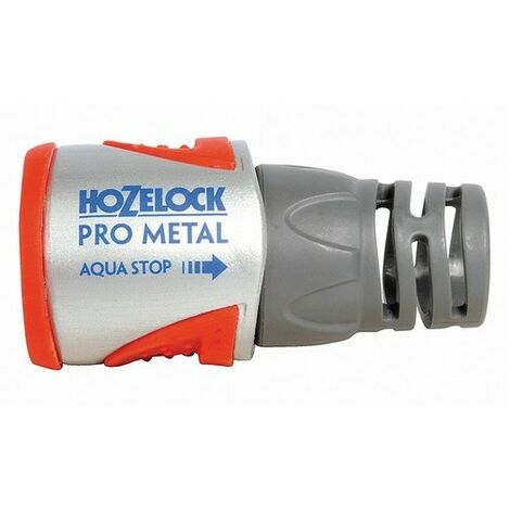 Hozelock 2035 Pro Metal Aqua Stop Hose Connector 12.5 - 15mm