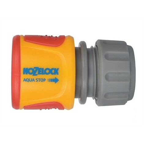 Hozelock 20750000 Soft Touch Aqua Stop Connector