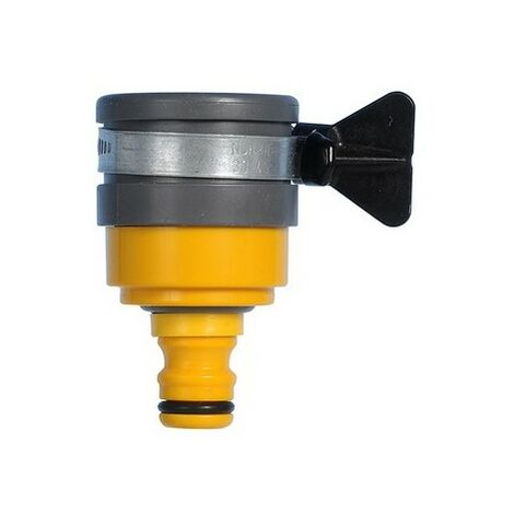 "main image of ""Hozelock 2177 Round Mixer Tap Connector Max 24 mm Diameter"""