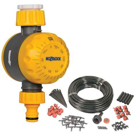 Hozelock 2210 Auto Off Mechanical Water Timer Tap Controller & Irrigation Kit