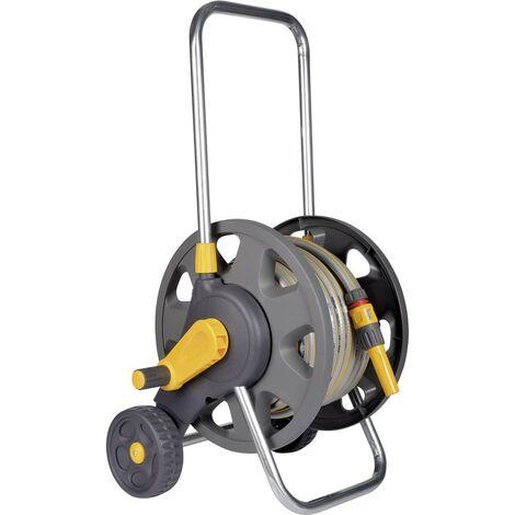 Hozelock 2432R3535 30 m gris, jaune Enrouleur de tuyau darrosage sur roues
