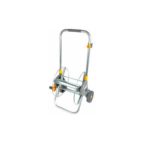 Hozelock 60M Assembled Garden Hose Cart Trolley Reel 50M Pipe Nozzle Connectors