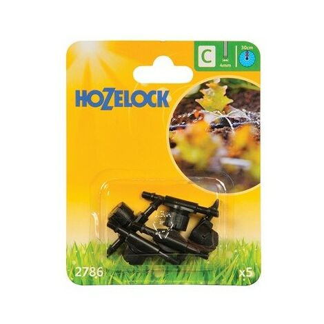 Hozelock 2786 In Line Adjustable Mini Sprinkler 4mm (5 Pack)