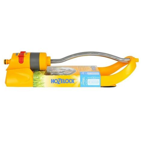 Hozelock 2972 Aquastorm 15 Hole Oscillating Sprinkler 180m2 Area Coverage
