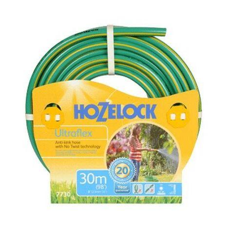 Hozelock 30m Ultraflex Hose 7730 Garden Hose Watering Anti Kink 7730P0000