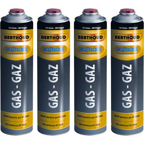 Hozelock 4 x cartouches de gaz pour désherbeur