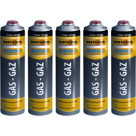 Hozelock 5 x cartouches de gaz pour désherbeur