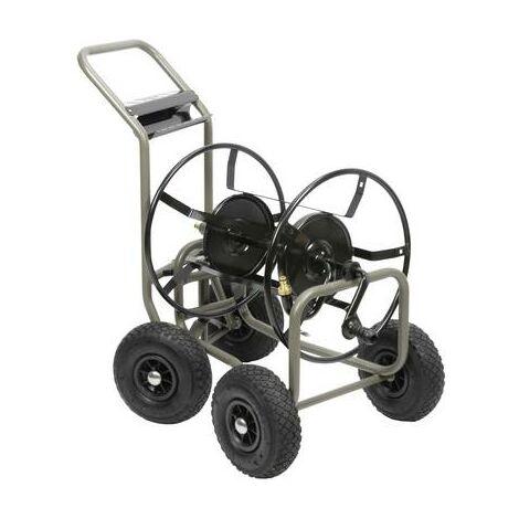 Hozelock 59505 noir, gris Dévidoir de tuyau sur roues nu
