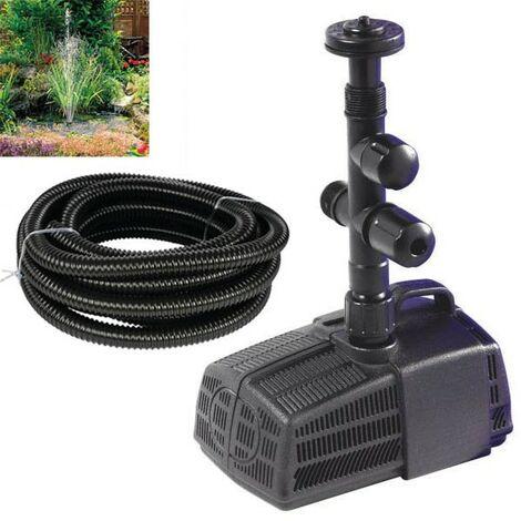 Hozelock Cascade 4000 Fountain & Waterfall Pond Pump 3344 Fish Filter & 5m Hose