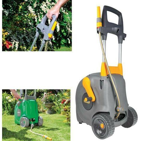 Hozelock Fast Cart Free Standing Garden Watering Hose System 40m 2450