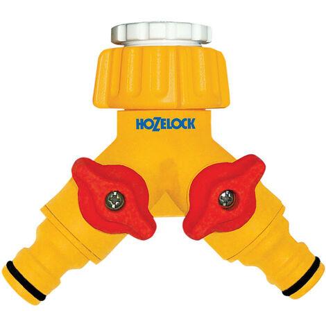 Hozelock HOZ2256 Dual Control Tap Connector 3/4in BSP