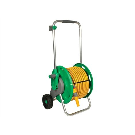 Hozelock HOZ2435 2435 60m Assembled Hose Cart & 50m of 12.5mm Hose