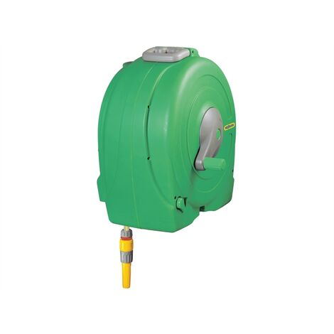 Hozelock HOZ2496 2496 Wall Mounted 40m Fast Reel + 40m of 12.5mm Hose