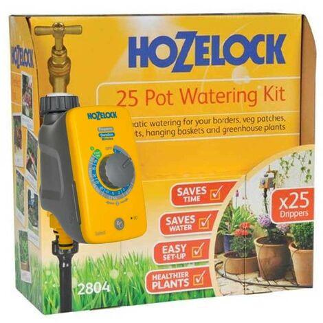 "main image of ""Hozelock Plus Auto 25 Plant Pot Hedge Watering Kit 2804 AC Plus Automatic Water"""