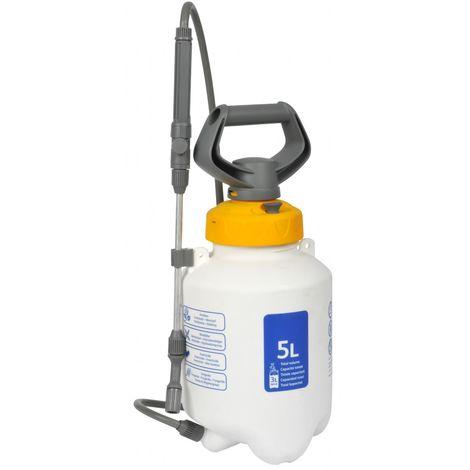 Hozelock 5 Litre Manual Knapsack Garden Pressure Sprayer Spray Kill Weeds