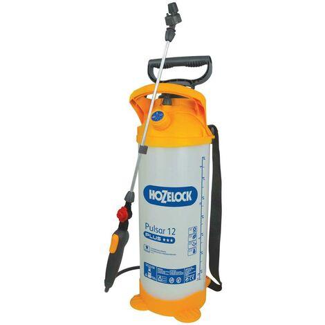 Hozelock Pulsar Plus 12 Litre Pressure Sprayer Garden Weed Killer Spray 4710