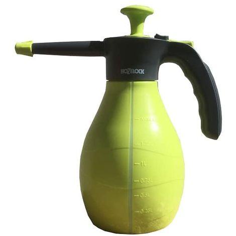 Hozelock Pulverizador a Presión para Riego de Plantas y Cultivos en Jardín, Huerto y Terraza 1,5 Litro