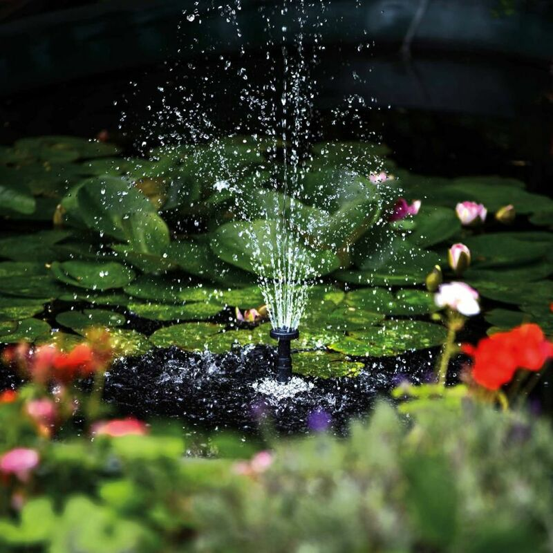 Hozelock Springbrunnenpumpe Wasserspiel Fontäne Pumpe Teichpumpe Cascade 1500L//h