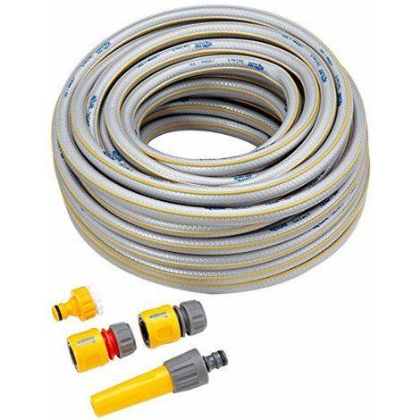 Hozelock Tricoflex Select Tuyau Set de diamètre 12,5mm 25m avec équipement de base multicolore 32,5x 32,5x 12,7cm, 6025p9000