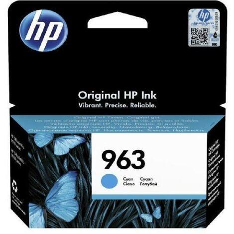 HP Cartouche jet d'encre 963 - Cyan - Jet d'encre