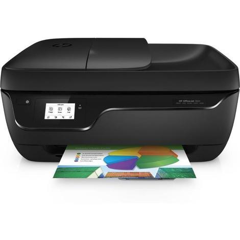 HP Imprimante 4 en 1 - Officejet 3831 - Jet d'encre - couleur - Wifi - Éligible Instant Ink 70% d'économies sur l'encre