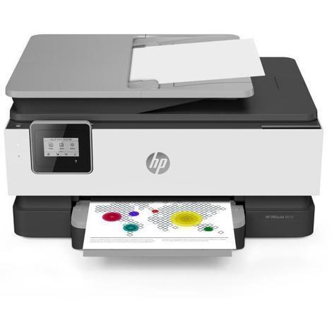 HP Imprimante OfficeJet Pro 8014 3-en-1 - Jet d'encre - Couleurs - Wi-Fi - Economisez jusqu'a 70% sur l'encre avec Instant Ink