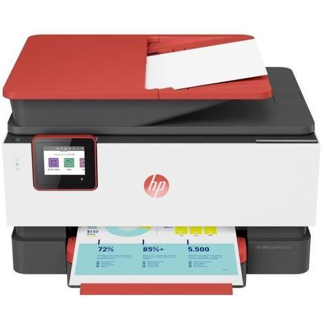 HP Imprimante Tout-en-un OfficeJet Pro 9016 Corail - Couleurs - Wi-Fi - Economisez jusqu'a 70% sur l'encre avec Instant Ink