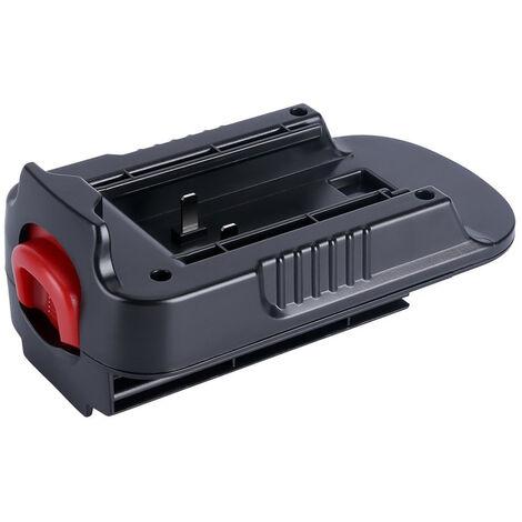 Hpa1820 Adaptateur 20V Max 18V Adaptateur Remplacement Adaptateur De Batterie Pour Black Decker Et Stanley & Porter Convert Black Cable Decker 20V Ou 20V Stanley Ou Porter Cable 20V Lithium-Ion Rechargeable